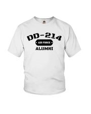 DD-214 US Air Force Alumni T-Shirt Youth T-Shirt tile