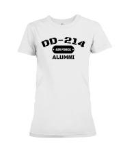 DD-214 US Air Force Alumni T-Shirt Premium Fit Ladies Tee thumbnail