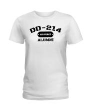 DD-214 US Air Force Alumni T-Shirt Ladies T-Shirt front