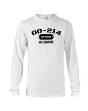 DD-214 US Air Force Alumni T-Shirt Long Sleeve Tee thumbnail