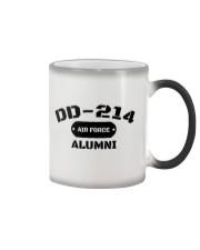 DD-214 US Air Force Alumni T-Shirt Color Changing Mug thumbnail