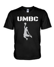 UMBC Retrievers Basketball Shirt V-Neck T-Shirt thumbnail