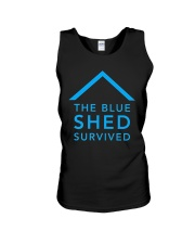 The Blue Shed Survived Hurricane Harvey T-Shirt Unisex Tank thumbnail