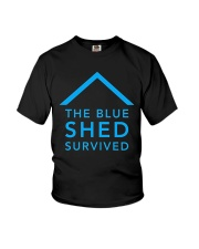 The Blue Shed Survived Hurricane Harvey T-Shirt Youth T-Shirt thumbnail