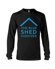 The Blue Shed Survived Hurricane Harvey T-Shirt Long Sleeve Tee thumbnail