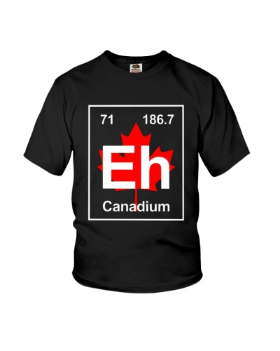 Eh Canadium Funny Best Gift For Team Canada Shirt