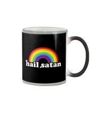 Hail Satan T-Shirt Color Changing Mug thumbnail