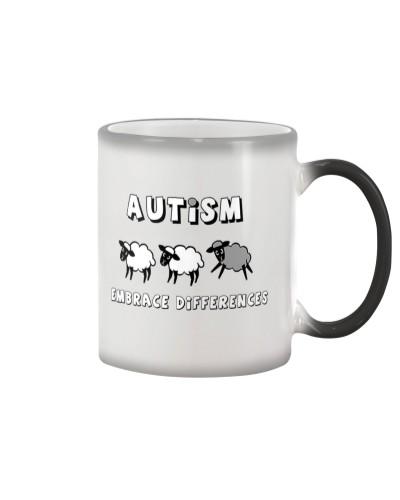 Autism Embrace Differences T-Shirt