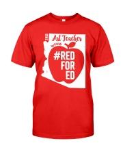 Arizona Teacher Tee Shirt Red For Ed Classic T-Shirt thumbnail