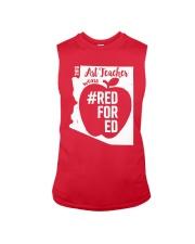 Arizona Teacher Tee Shirt Red For Ed Sleeveless Tee thumbnail
