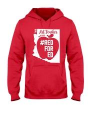 Arizona Teacher Tee Shirt Red For Ed Hooded Sweatshirt thumbnail