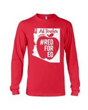 Arizona Teacher Tee Shirt Red For Ed Long Sleeve Tee thumbnail