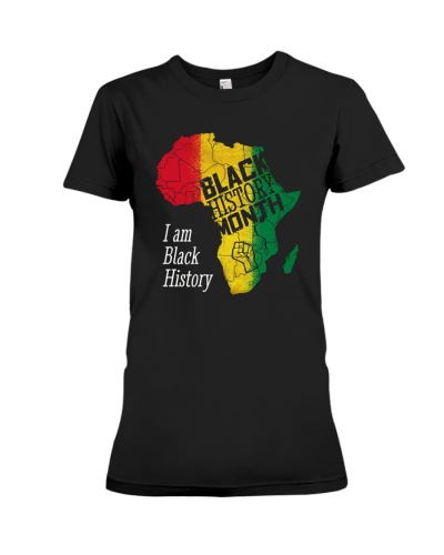 I Am Black History Tee Shirts