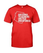 Arizona Teachers United REDforED Shirt Premium Fit Mens Tee thumbnail