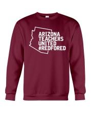 Arizona Teachers United REDforED Shirt Crewneck Sweatshirt thumbnail