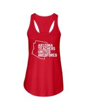 Arizona Teachers United REDforED Shirt Ladies Flowy Tank thumbnail