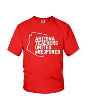 Arizona Teachers United REDforED Shirt Youth T-Shirt thumbnail