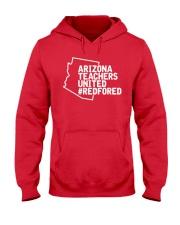 Arizona Teachers United REDforED Shirt Hooded Sweatshirt thumbnail