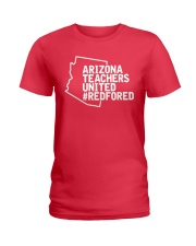 Arizona Teachers United REDforED Shirt Ladies T-Shirt thumbnail