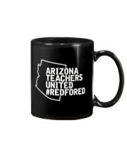 Arizona Teachers United REDforED Shirt Mug thumbnail