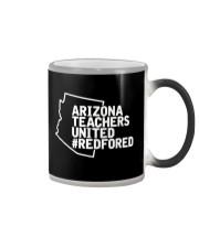 Arizona Teachers United REDforED Shirt Color Changing Mug thumbnail