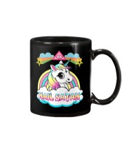 Unicorn hail satan death metal rainbown t-shirt Mug thumbnail