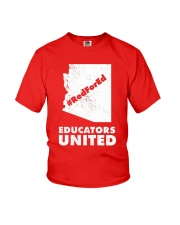 Red For Ed Educators United T-Shirt Youth T-Shirt tile