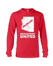 Red For Ed Educators United T-Shirt Long Sleeve Tee thumbnail