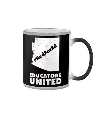 Red For Ed Educators United T-Shirt