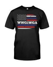 WWG1WGA Qnon Political T-Shirt Premium Fit Mens Tee thumbnail
