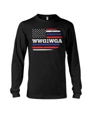 WWG1WGA Qnon Political T-Shirt Long Sleeve Tee thumbnail