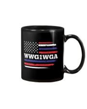 WWG1WGA Qnon Political T-Shirt Mug thumbnail