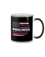 WWG1WGA Qnon Political T-Shirt Color Changing Mug thumbnail