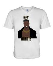 Hey Auntie Gift T-Shirt V-Neck T-Shirt thumbnail