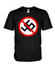 No 45 Anti Trump Political Impeach Trump T-Shirt V-Neck T-Shirt thumbnail