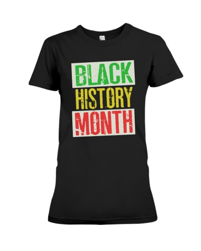 Distressed Black History Month T-Shirt