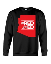 Hashtag Red For Ed Shirt Crewneck Sweatshirt thumbnail