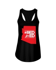 Hashtag Red For Ed Shirt Ladies Flowy Tank tile