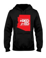 Hashtag Red For Ed Shirt Hooded Sweatshirt tile