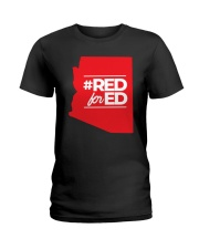Hashtag Red For Ed Shirt Ladies T-Shirt thumbnail
