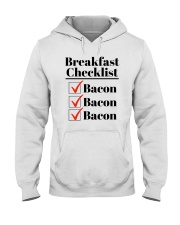 Breakfast Checklist Funny T-Shirt Hooded Sweatshirt thumbnail