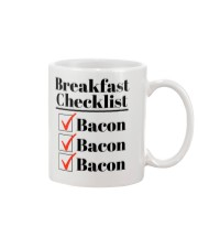 Breakfast Checklist Funny T-Shirt Mug tile