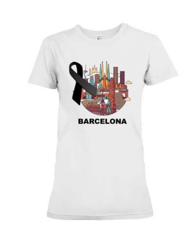 Pray For Barcelona 17 8 2017 Tee Shirt