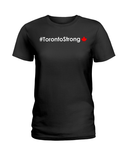 Hashtag Toronto Strong Tee Shirt
