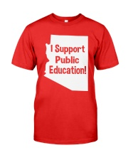 I Support Public Education T-Shirt Premium Fit Mens Tee thumbnail