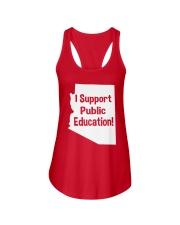 I Support Public Education T-Shirt Ladies Flowy Tank thumbnail
