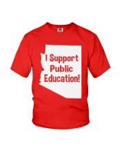 I Support Public Education T-Shirt Youth T-Shirt thumbnail
