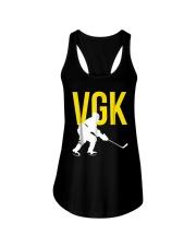 Hockey Golden Knight Tee Shirt Ladies Flowy Tank thumbnail