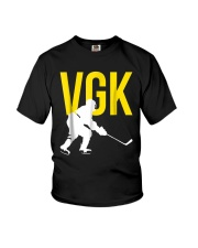 Hockey Golden Knight Tee Shirt Youth T-Shirt thumbnail