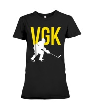 Hockey Golden Knight Tee Shirt Premium Fit Ladies Tee thumbnail